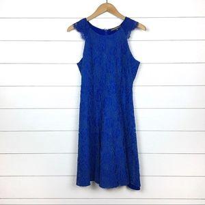 NWT Brixon Ivy Stitch Analeese Blue Lace Dress